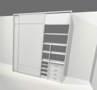 vestvěné skříně
