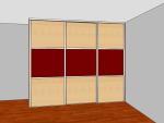 strední skřín 3 dvere