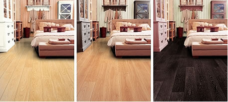 Barva na podlahu dřevo